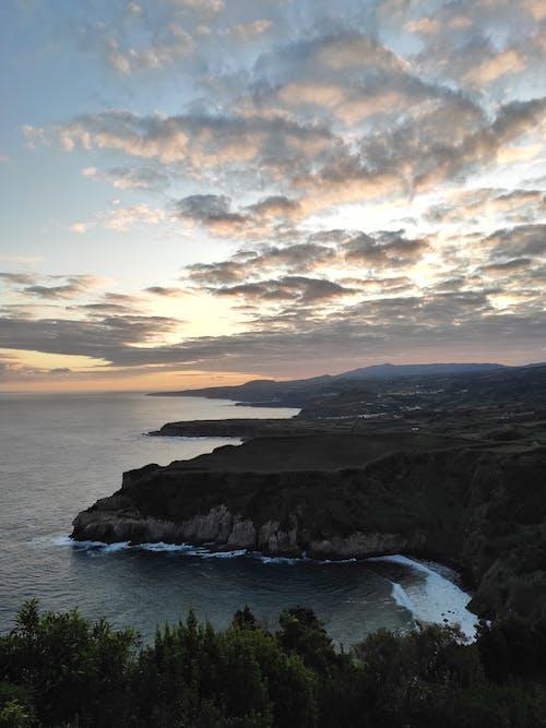 Δωρεάν στοκ φωτογραφιών με miradouro de santa iria, αεροφωτογράφιση, ακτή, απόσταση