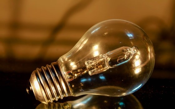 Free stock photo of light, glass, light bulb, reflection