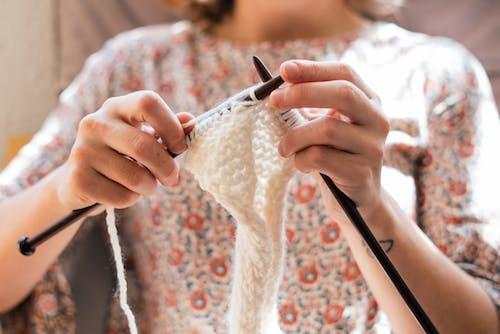 Fotos de stock gratuitas de afición, algodón, calceta, creatividad