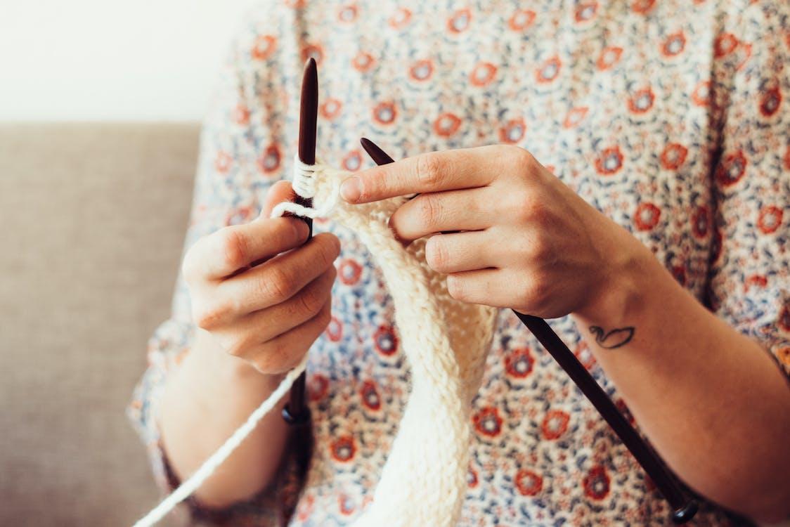 afición, algodón, artesanía