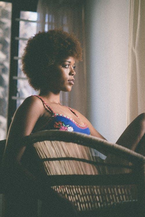 Δωρεάν στοκ φωτογραφιών με afro μαλλιά, άνθρωπος, αφροαμερικάνα γυναίκα, γυναίκα