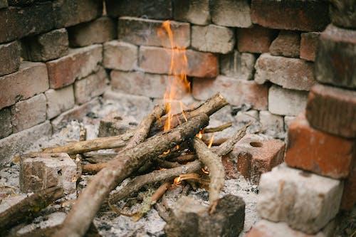 Ảnh lưu trữ miễn phí về củi, đốt, gạch, lửa trại