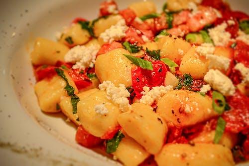 Free stock photo of dish, gnocchi, Italian food