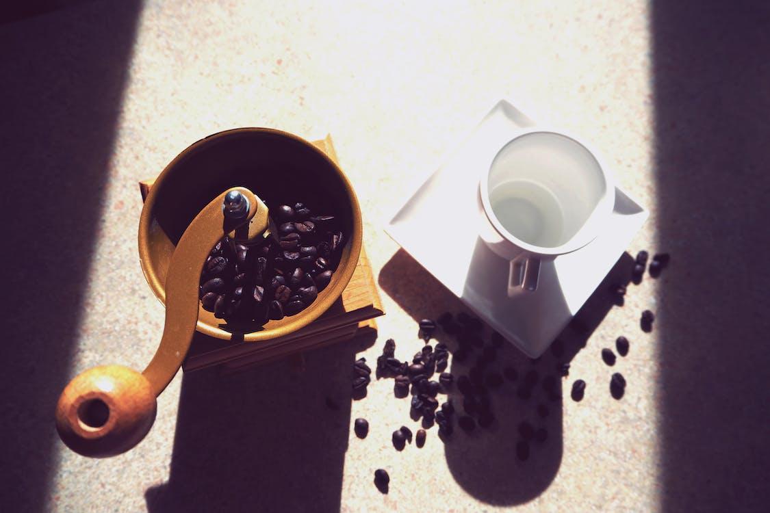一杯咖啡, 光, 光線