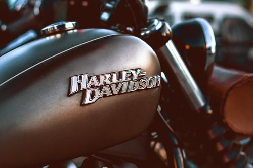 Close-up Photography of a Harley Davidson Motorcycle