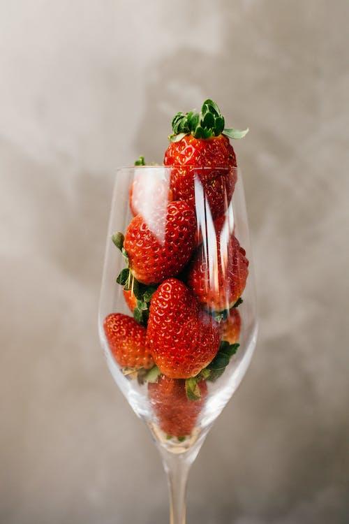 Foto stok gratis berair, beri, buah, daun
