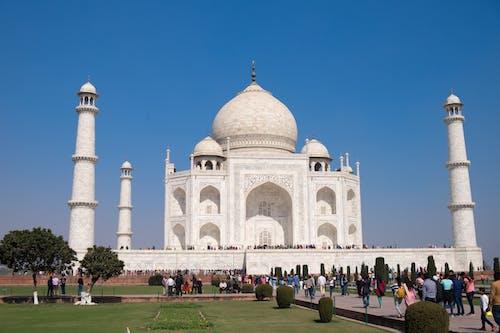 Free stock photo of india, taj mahal