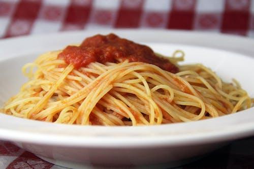 Free stock photo of angel hair, food, Italian food