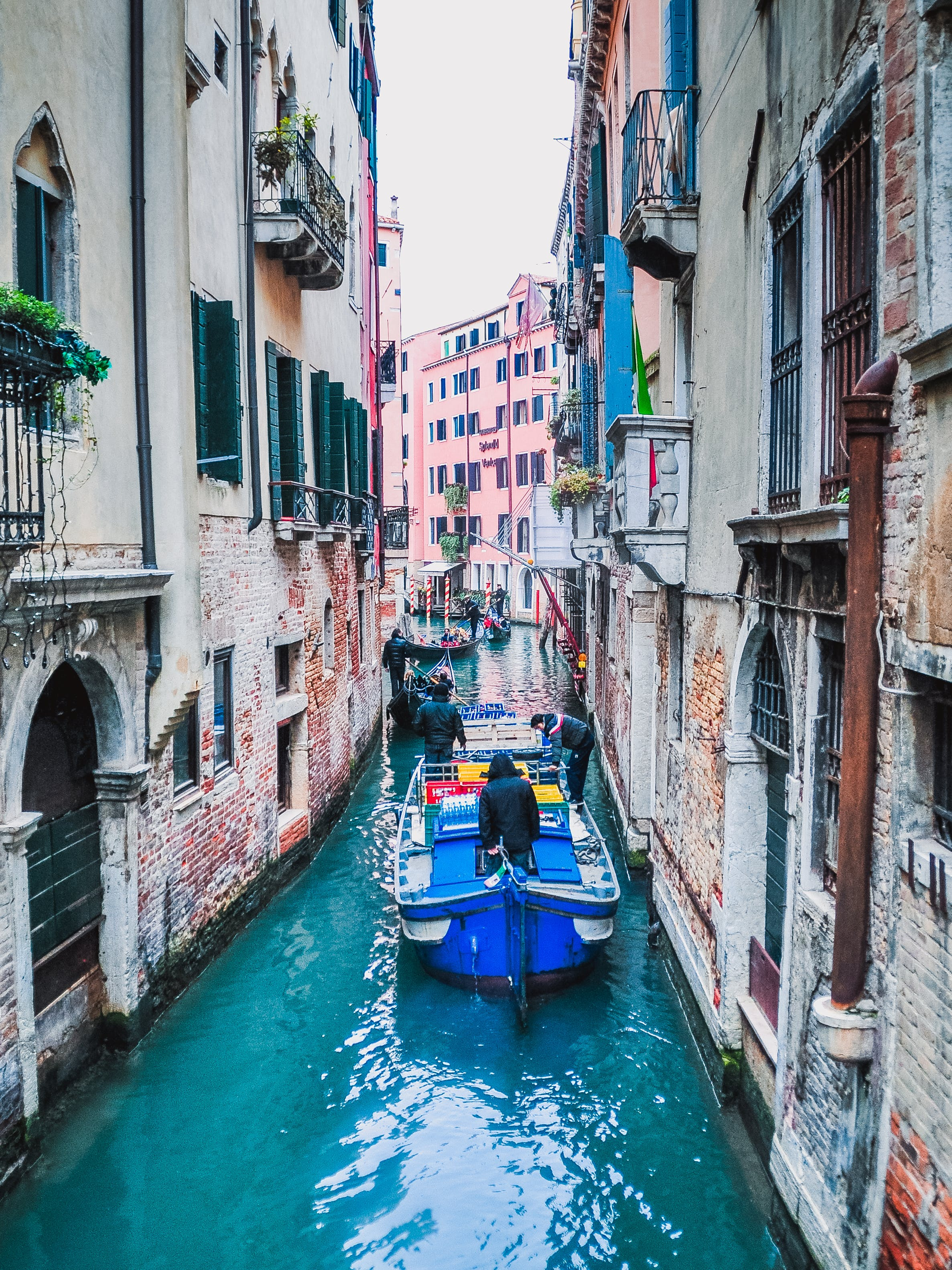 Free stock photo of water, italy, canal, river