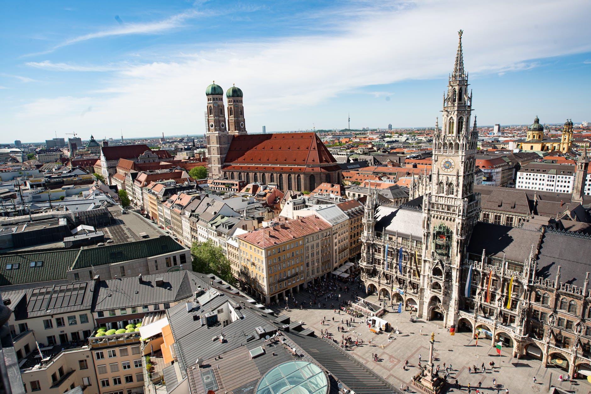 德國慕尼黑 / 瑪麗恩廣場 Marienplatz / 新市政廳 Neues Rathaus