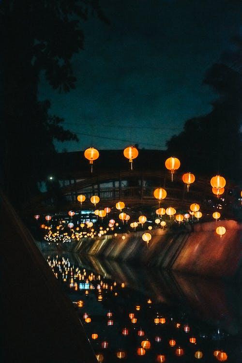 Δωρεάν στοκ φωτογραφιών με κινέζικα, φώτα της πόλης