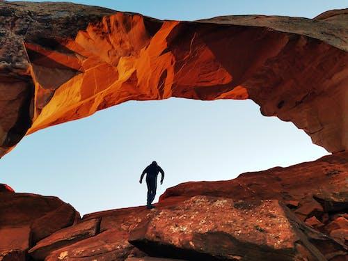 Gratis stockfoto met beklimmen, berg, boog, buiten