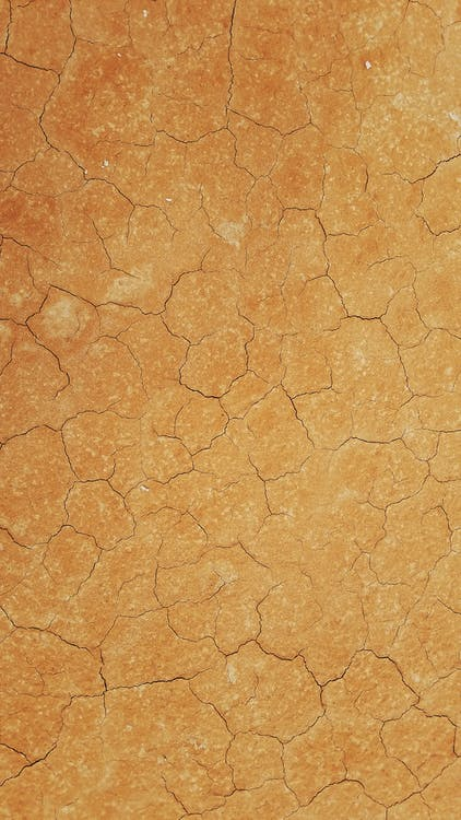 Cracks On The Surface Of A Ground