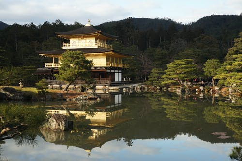Kinkaku-ji Temple in Kyoto