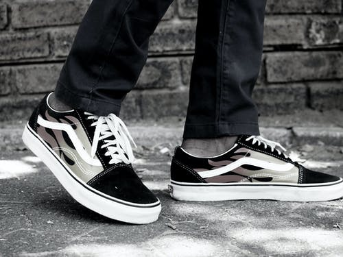 #楷模, vans(運動鞋品牌), 定制鞋, 時尚 的 免费素材照片