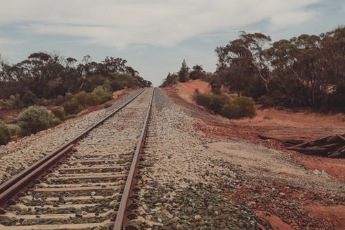 Free stock photo of australia, outback, rail tracks, railroad