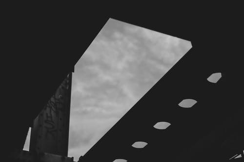 Free stock photo of abstract, bridge, grey sky, industrial