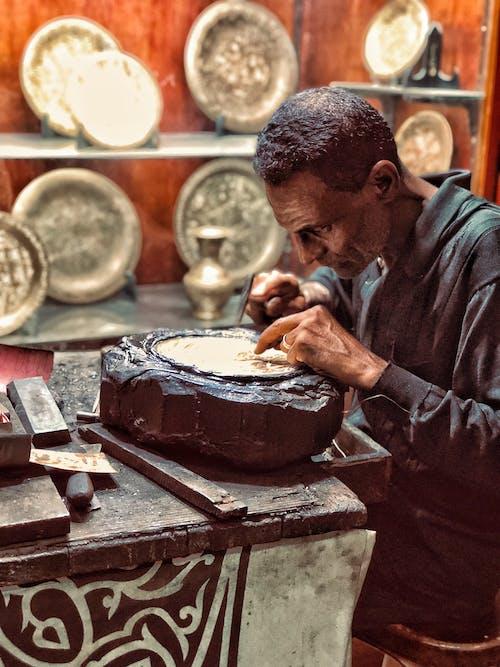 Fotos de stock gratuitas de adulto, Arte, Arte y manualidades, artesanía