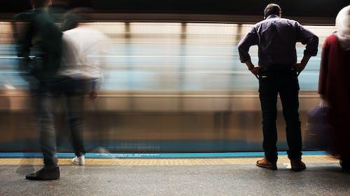 Free stock photo of human, metro, subway station, train station