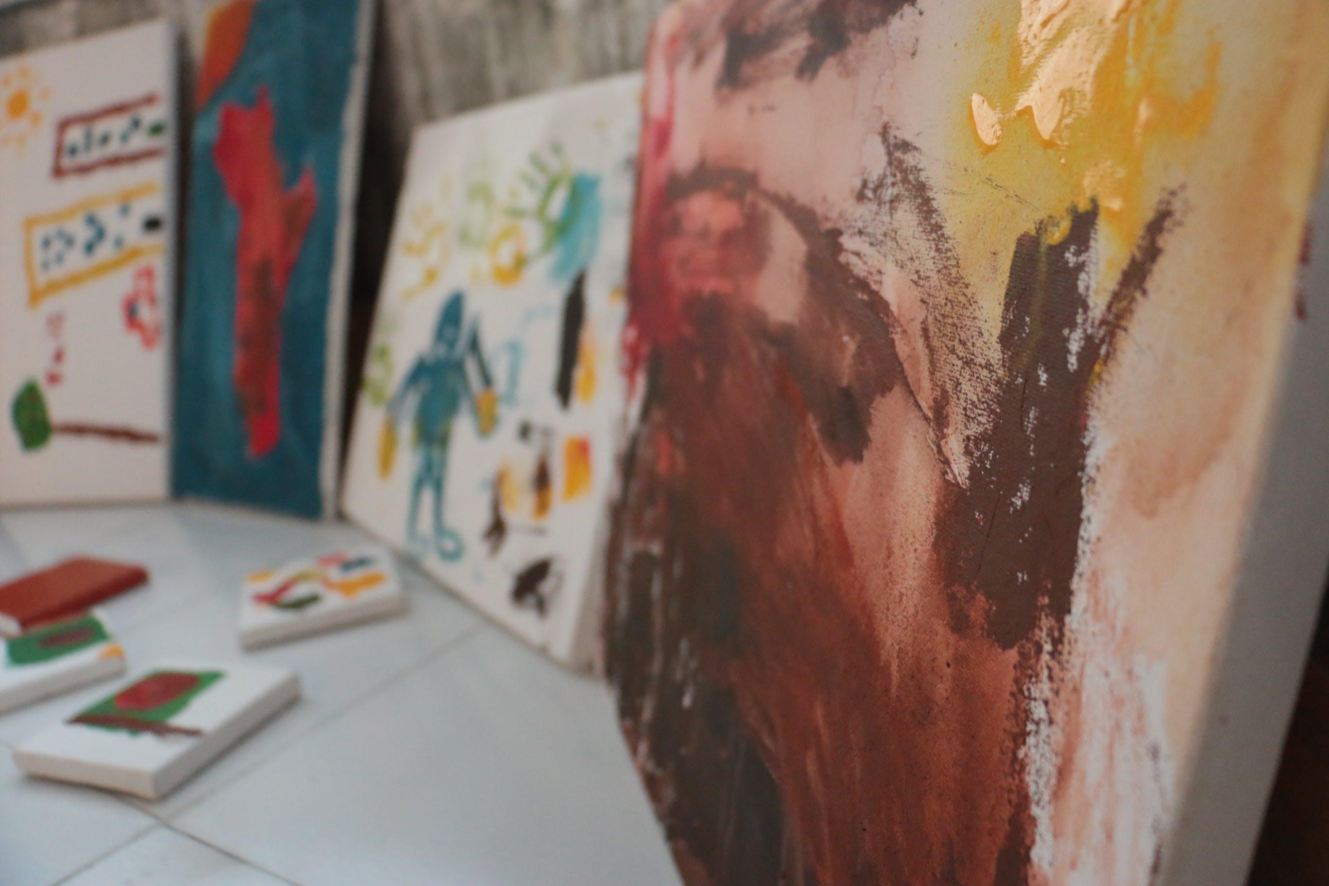 Free stock photo of art materials