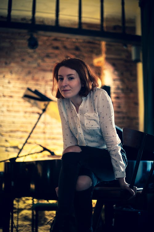 Gratis lagerfoto af klaver, kvinde, model, person