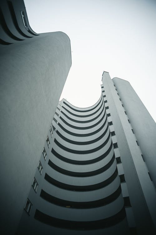 Low Angle Shot Of Building
