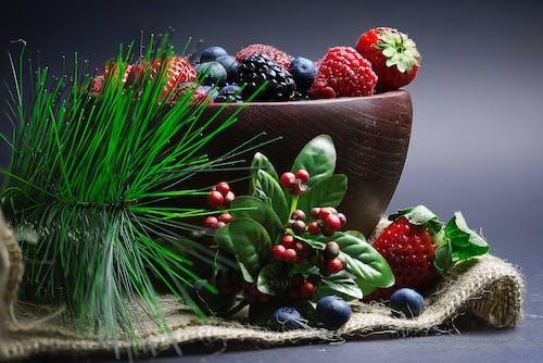 Základová fotografie zdarma na téma bobule, borůvky, jahody, jídlo