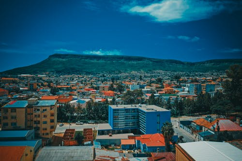 Free stock photo of african, Angola, city center, drone cam