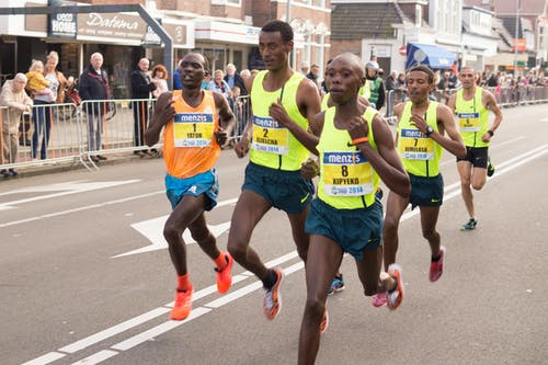 Men Doing Marathon