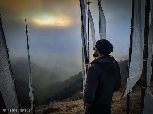 Δωρεάν στοκ φωτογραφιών με μπουτάν, σημαίες προσευχής, ταξίδι