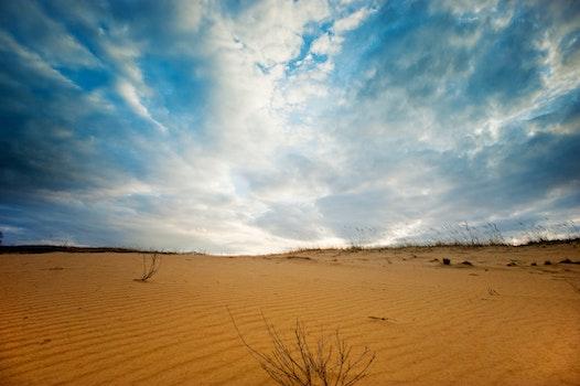 Free stock photo of nature, sky, sand, desert
