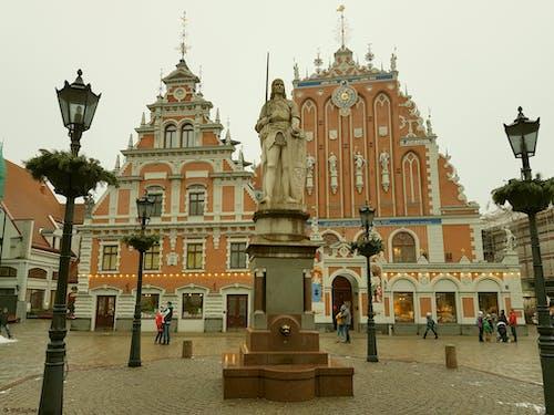 Free stock photo of latvia, riga, town hall square