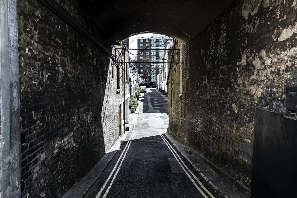 Free stock photo of road, tunnel
