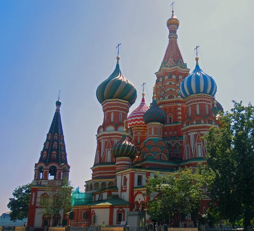 Free stock photo of cathedral, moscow, st basil s