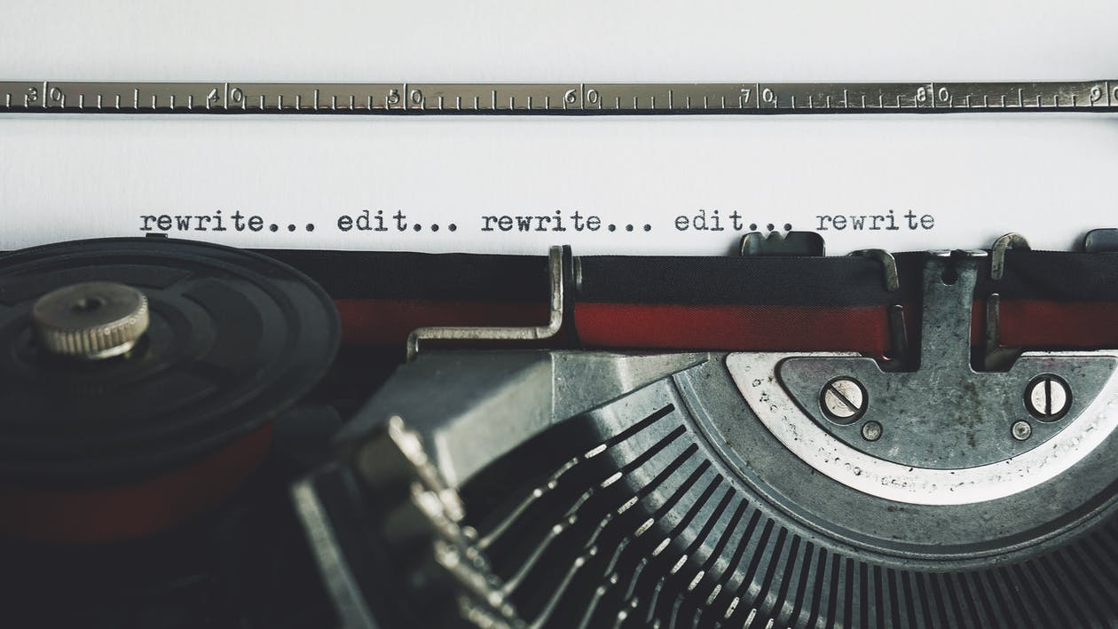 Rewrite Edit Text on a Typewriter
