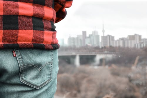 Free stock photo of blue jeans, building, buildings