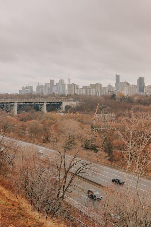 Gratis arkivbilde med biler, by, byens skyline, byliv