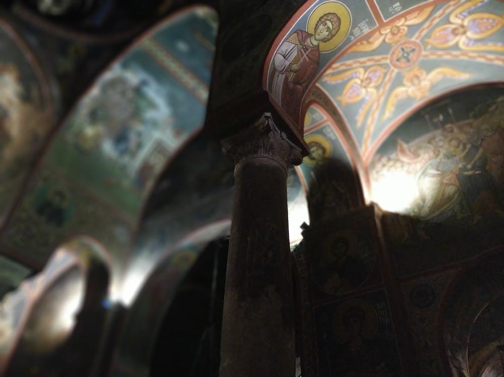 Free stock photo of christian, church, column