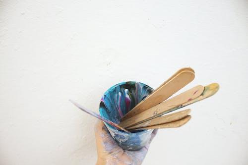 Gratis arkivbilde med akryl, artist, helle, kreativ prosess
