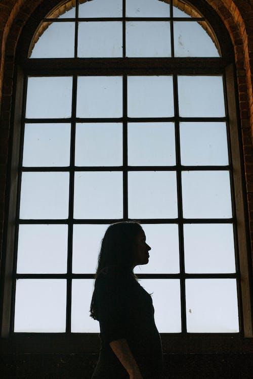 Ảnh lưu trữ miễn phí về bóng, cửa sổ, đàn bà, giống cái