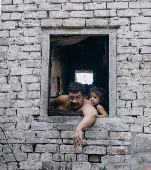 A Man With His Daughter