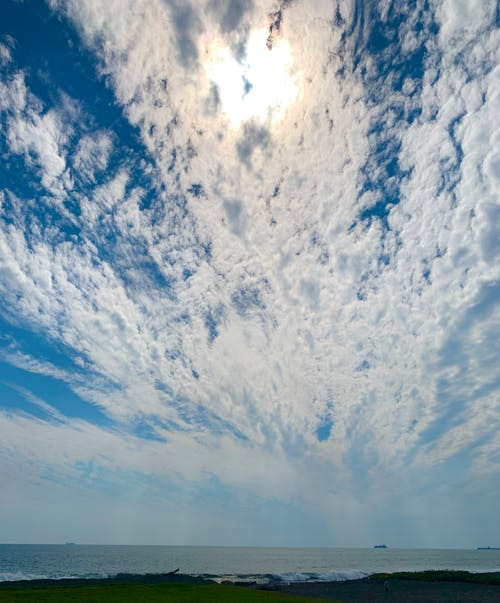 Free stock photo of blue sky, clouds, clouds form