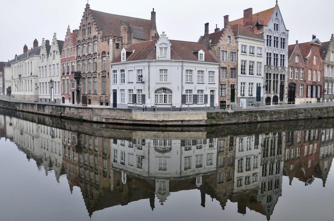 Free stock photo of apartments, architecture, Belgium