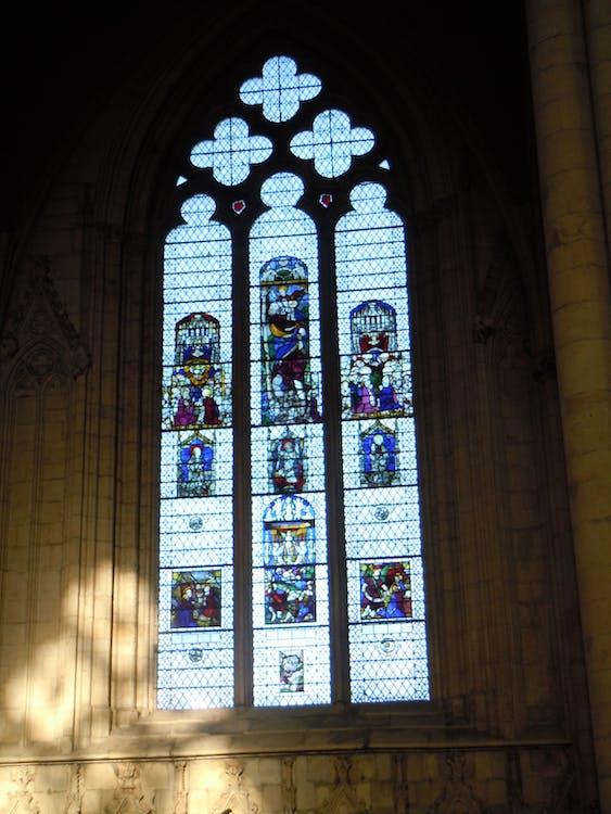 Free stock photo of arched window, church, church window