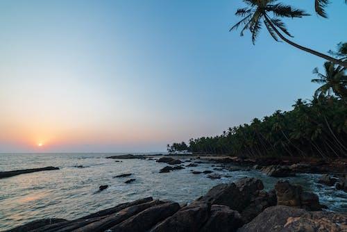 Free stock photo of beach, beach sunset, bluesky