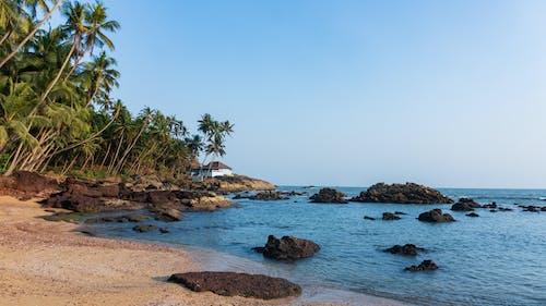 Free stock photo of beach, beach house, blue sky