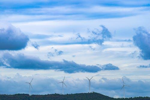 Photos gratuites de ciel, développement durable, efficacité, électricité