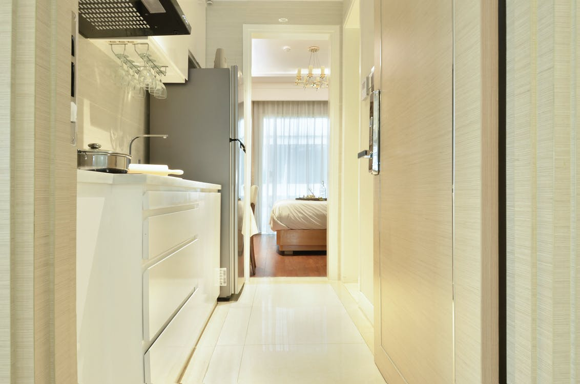 A Clean Kitchen Area