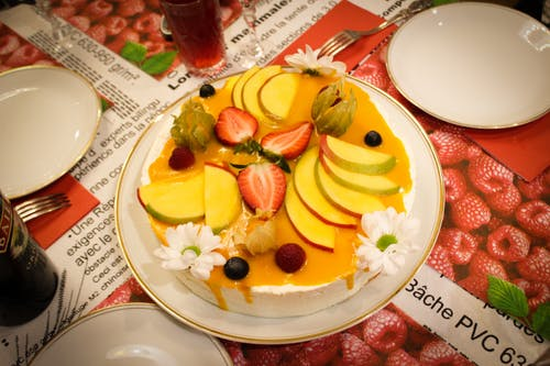 Free stock photo of cake, chamomile, holiday