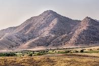 landscape, mountain, hills